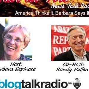 Hair on Fire News Talk Radio Surprise Guest