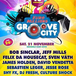 Sven Väth live @ Euro Millions Groove City - 21.11.2009, Brussels Kart Expo