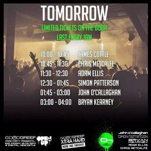 JAMES COTTLE - WARM UP SET FROM GOODGREEF XMAS PARTY presents OPEN UP #100