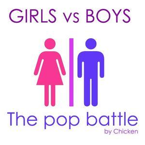 Girls vs boys: the pop battle