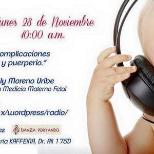 """Diálogos entre mamás: """"Prevención de complicaciones durante el embarazo"""". 28/11/16. Emisión 19"""