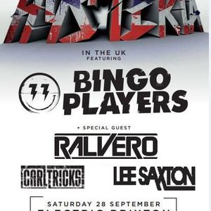 Lee Saxton Live at Hysteria Records Party London Opening for Bingo Players