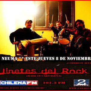 Programa Jinetes del Rock Episodio 8 de Noviembre 2012