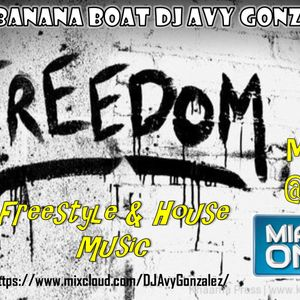 Freedom Mix on Miami One with some of your favorite Freestyle and house music