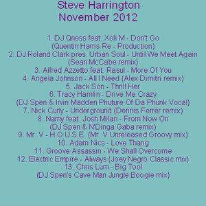 Steve Harrington November 2012