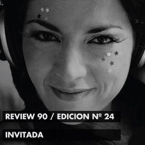 REVIEW 90, con Alfonsina D' Antona, edición 24, tercera temporada (Sábado 26 de Septiembre de 2015)