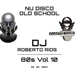 MIXCLOUD- NU DISCO 80S POP- DJ ROBERTO RIOS- RADIOCUARTOS CUADRADOS