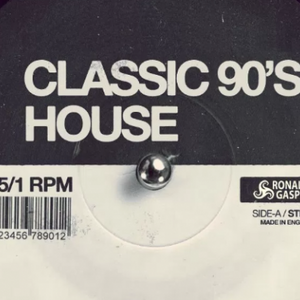 90s Classic House (mostly) Mix