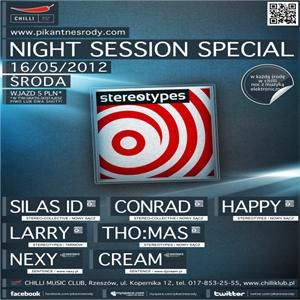 Night Session Special @ Chilli Music Club - 16.05.2012