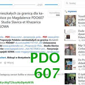Propozycje Polaków zamieszkałych za granicą dla katolików rządzących w Polsce po Magdalence PDO607