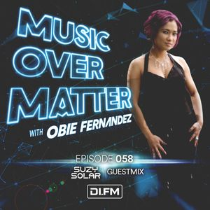 """Suzy Solar on DI.FM's """"Music Over Matter 058"""" exclusive mix"""