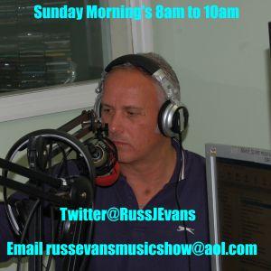 Russ Evans Breakfast Show - Sunday 12th April 2015