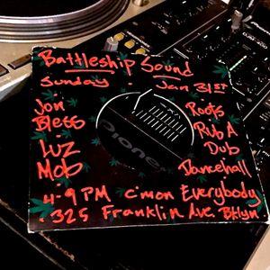 Battleship Sound @ C'mon Everybody 1.31.16 - Part II - JON BLESS