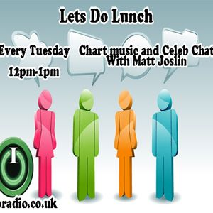 Lets Do Lunch with Matt Joslin on IO Radio 17.01.17