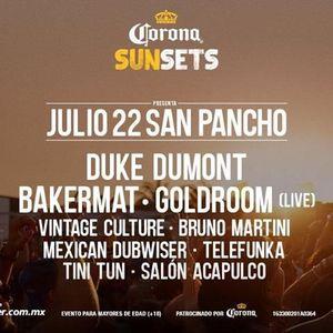 Vintage Culture @ Corona Sunsets Festival, San Pancho Beach, Mexico 2017-07-23