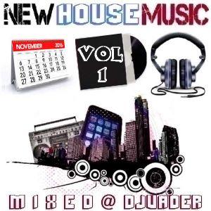 New House Trackz - Nov 2k16 - Vol 1 (Mixed @ DJvADER)