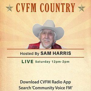 CVFM Country with Sam Harris Sunday 2 May 2021