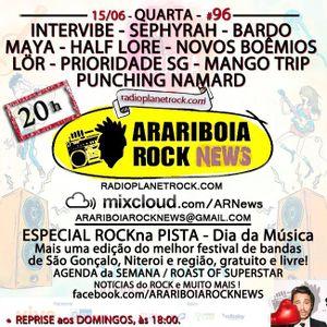 # 96 Arariboia Rock News - 15.06.2016 - Especial Dia da Música