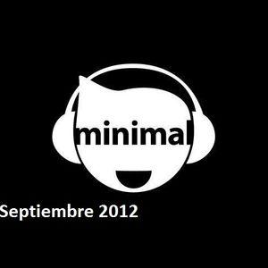 Xavii DJ Tech Minimal Septiembre 2012