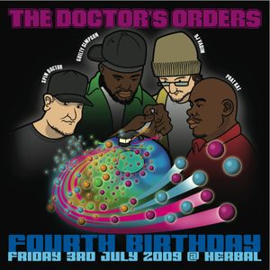 Spin Doctor - The Doctor's Orders 4th Birthday Mix