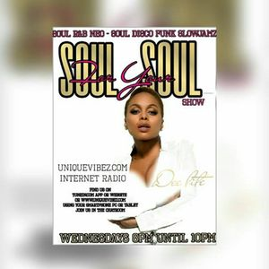 Dee Lite's Soul 4 Your Soul Show Weds 18th Jan 2017 on uniquevibez.com