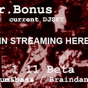 1.11 BETA - Brain / IDM / Drum'n'bass DJSet
