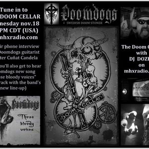 THE DOOM CELLAR WITH CHRISTER CUNAT CANDELA OF THE DOOMDOGS