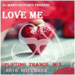 DJ MANUCHEUCHEU PRESENT UPLIFTING TRANCE 2016 NOVEMBER