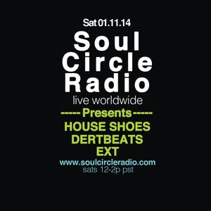 SCR presents Houseshoes x Rudy Eckes x Dertbeats