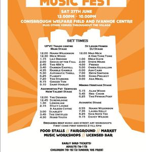 "PRENDI ""conisbrough music fest 2015""  27-6-15 live set"