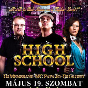 01. UNIV HighSchool Party - Peaches & Cream - 2012.05.19. - Mc PapaJo, Membrane, Glossy