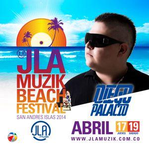 Happy Music Especial Edition JLA Muzik Beach Festival By Diego Palacio