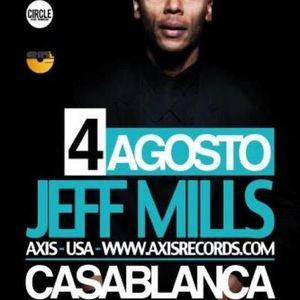 Jeff Mills - Live @ Crime Fest, Casablanca Disco Club, Nardò, Itália (04.08.2012)