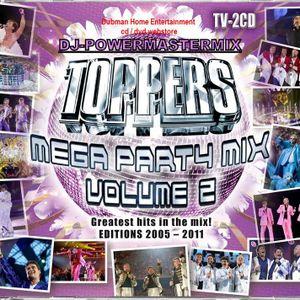 De Toppers - MegaPartyMix Vol. 2 - CD 1 & 2 CD   DJ-POWERMASERMIX