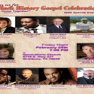 BLACK HISTORY GOSPEL CELEBRATION
