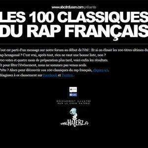 100 classiques du rap français en 100 minutes