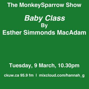 Baby Class- An essay by Esther Simmonds MacAdam- Monkeysparrow 37