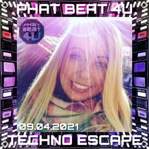 Phat Beat 4U Live Techno Escape on HNT Radio 09.04.2021 2:00-4:00 AM EDT US & CA, 6:00-8:00 AM GMT