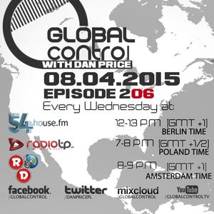 Dan Price - Global Control Episode 206 (08.04.15)