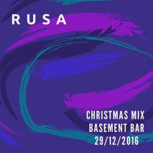 RUSA - Christmas mix Basement bar 29.12.2016