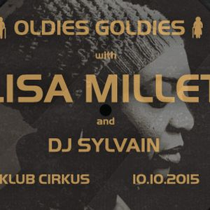 DJ Sylvain Feat. Lisa Millett - Cirkus Oldies Goldies 10 10 2015