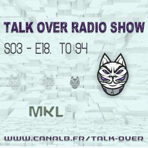 Talk Over #94 - ambient abstract idm mélodique, dub futuriste, acid, hiphop noise, breakcore...