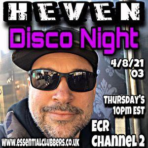 "Essential Clubbers Radio Channel 2 - Live Mix 03 ""DISCO NIGHT"" - K e V e N - 4/8/21"