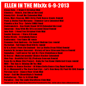 Ellen in the MixXx 6-9-2013 Disco ItaloDance Handsup New Releases
