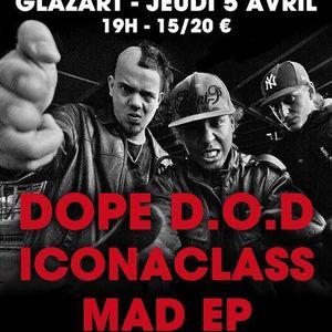 Mad EP - live in Paris (Glazart) - April, 2012