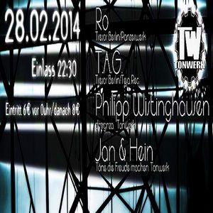 Philipp Wistinghausen @ Tonwerk Meets Tresor - Club Johnny Mauser Lüdenscheid - 28.02.2014