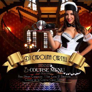 3 Course Menu Vol. 1 Raw Urban carpaccio