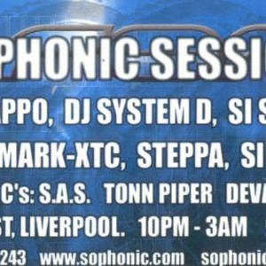 DJ-SET @ Sophonic, Liverpool, UK (2002)
