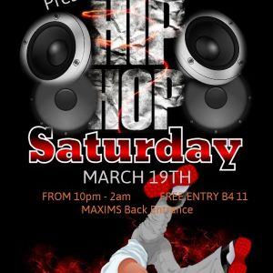 Maxims Old Skool Hip Hop Night 19/03/16 PART 2