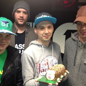 J Majik & Wickaman (Infrared Records) @ Crissy Criss D&B M1X Radio Show, BBC 1Xtra (03.05.2012)